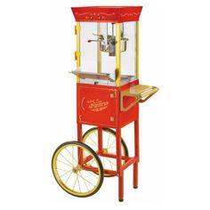Nostalgia Electrics CCP-510 Vintage Collection Movie Time Popcorn Cart - 082677135100