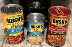 Crock Pot Loaded Baked Beans are perfect for any time of year. Just drop everything in the crock pot stir, perfect for picnics, tailgating, and potlucks Slow Cooker Recipes, Crockpot Recipes, Cooking Recipes, Bushs Baked Beans Recipe, Baked Beans Crock Pot, Garlic Parmesan Pasta, Baked Bean Recipes, Eat And Go