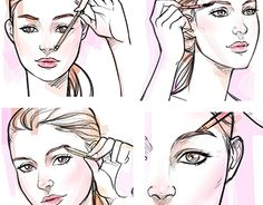 """Check out new work on my @Behance portfolio: """"Fashion beauty instructional Illustration by Pat Chiang"""" http://be.net/gallery/52992083/Fashion-beauty-instructional-Illustration-by-Pat-Chiang"""