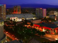 A skyline view of the renovated and expanded San Jose Convention Center. Oh yeah! http://www.sanjose.org