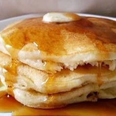 The softest, fluffiest and best buttermilk pancakes . from scratch . - The softest, fluffiest and best buttermilk pancakes … from scratch! Best Homemade Sloppy Joe Recipe, Homemade Sloppy Joes, Sloppy Joes Recipe, Easy Banana Pancake Recipe, Pancake Healthy, Healthy Dog Treats, Healthy Food, Yummy Food, Sin Gluten
