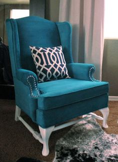 Painted upholstered furniture
