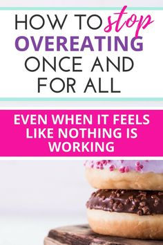 Is it possible to live in a place where you are finally able to stop overeating? This ultimate resource guide will help give you tips and ideas to stop overeating, binge eating, and emotional indulgence! Start Losing Weight, Lose Weight, Weight Loss, Healthy Eating Tips, Eating Habits, Healthy Weight, Healthy Habits, Stop Overeating, Paleo Diet Plan