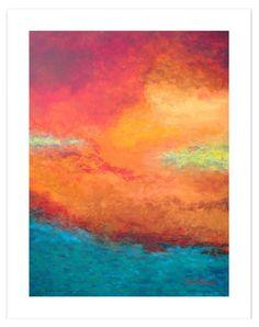 Lake Reflections Canvas Print ==
