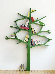 Estante de Árvore para Guardar Livros