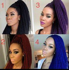 Color braids