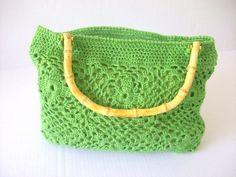Fashion handmade crochet bag by ANGELBAGS on Etsy, $45.00