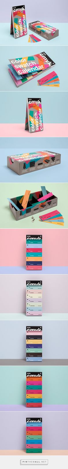 Color Swatch Calendar 2016 Designed by Peter von Freyhold