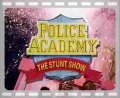 Police Academy The Stunt Show Six Flags Police Academy, Six Flags, Stunts, Movie Tv, Park, Artwork, Work Of Art, Waterfalls, Auguste Rodin Artwork