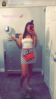 Stunning summer outfits ideas for curvy teen girls 33 - VIs-Wed Source by majalynayanna ideas for teens Swag Outfits, Dope Outfits, Trendy Outfits, Summer Outfits, Girl Outfits, Fashion Outfits, Fashion Clothes, Summer Birthday Outfits, Baddies Outfits