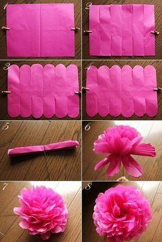 $Fleurs de Papier ~クラフトパンチや花紙で