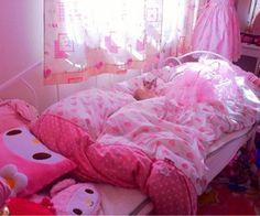 113 afbeeldingen over Interior design op We Heart It   Bekijk meer over room, pink en kawaii