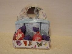Butterfly Bath Set by MiniMavenCreates on Etsy, $15.00 Lunch Box, Miniatures, Butterfly, Bath, Projects, Etsy, Bathing, Blue Prints, Bento Box