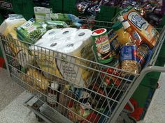 Starting from Scratch — First Grocery Shopping After a Move | Ground Control to Major Mom
