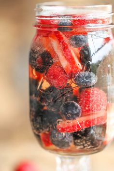 Easy Berry Sangria.