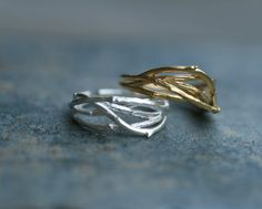 Tree Branch adjustable ring. Choose your color. by DoubleBJewelry, $14.00