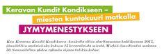 Juttuni Keravan Kundit Kondikseen -hankkeesta Kerava-lehdessä sivulla 14.