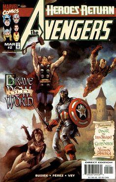 The Avengers #2 Marvel Comics