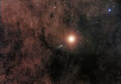 Best Astronomy Photographs to Inspire Awe and Wonder — Comet C/2013 A1 alongside Mars by Sebastian Voltmer
