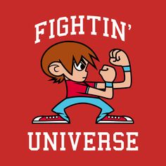 Check out this awesome 'Fightin%27+universe' design on @TeePublic!