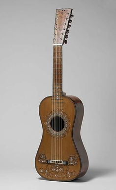 Guitar Attributed to Joseph de Frías (active 1775-1800) Date: ca. 1780 Geography: Seville, Spain Medium: Spruce, rosewood, cedar, ebony, mother-of-pearl Dimensions: Total L. 94.7 cm (37-5/16 in.); String L. 62.5 cm (24-5/8 in.); Body L. 46.7 cm (18-3/8 in.); Upper Bouts 22.8 cm (9 in.); Middle Bouts 17.7 cm (6-15/16 in.); Lower Bouts 27.9 cm (11 in.); Depth at Tail 12.1 cm (4-3/4 in.)