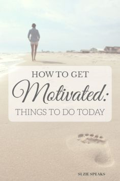 In a slump and feeling demotivated? Here are my ideas to perk up your levels of motivation and productivity!