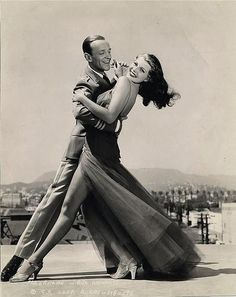 """With typical modesty Rita Hayworth remarked that the only films she could watch without laughing were the dance musicals she made with Fred Astaire. """"I guess the only jewels of my life,"""" Hayworth said, """"were the pictures I made with Fred Astaire."""""""