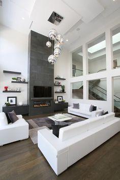Bayview & York Mills Modern - contemporary - Living Room - Toronto - Carey Mudford Interior Design