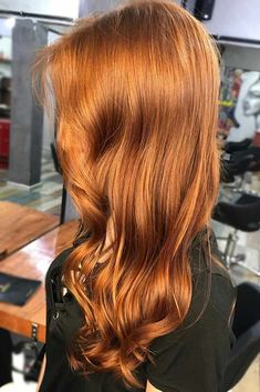 Check out the most complimenting and popular red hair color samples to get ready for a change.#haircolor#auburnhair#balayagehair