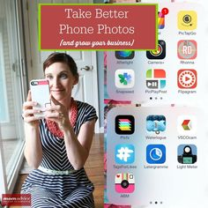 Take Better Phone Photos (And Grow Your Business) from MomAdvice.com.