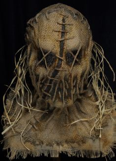 My handmade Scarecrow masks have been featured in several award-winning films and are worn in countless haunted attractions across the country each year. Casa Halloween, Scary Halloween Masks, Scary Mask, Halloween 2019, Halloween Halloween, Halloween Makeup, Scarecrow Mask, Halloween Scarecrow, Vintage Witch