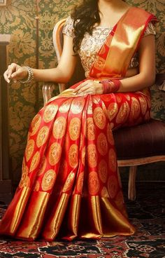Wedding Silk Sarees for Andhra Bride