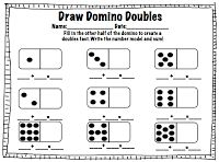 Doubles Facts- Fun way to reinforce fact fluency. Includes 7 pages!