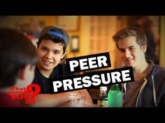 Teens Peer Pressure Friend to Abuse Cough Syrup | What Would You Do? | WWYD - YouTube