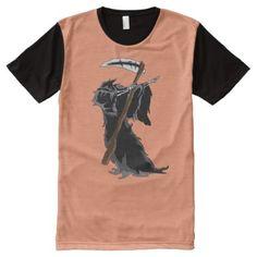 grim Dabbing Funny Halloween Dab Dance All-Over-Print Shirt - thanksgiving day family holiday decor design idea