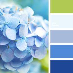 Blue Color Palettes, blue shades, color palette for home, green, green and… Color Schemes Colour Palettes, Blue Colour Palette, Color Combos, Beach Color Schemes, Paint Combinations, Green Palette, Color Azul, Pantone, Color Balance