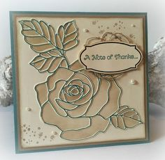 Vintage Vrijdag #50: Stampin' Up! ~ Rose Wonder