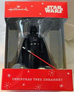 Hallmark Star Wars Darth Vader Christmas Ornament New $19.99