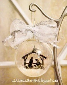 25 Rock Star Ways to Fill a Glass Ornament (my favorite is #2!)