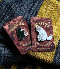Fantastic Beasts Pin Badges