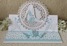 New Tonic Studios Release - Rococo Fairies - Ruth Card Making Inspiration, Making Ideas, Tonic Cards, Feather Cards, Studio Cards, Birthday Cards For Women, Easel Cards, Die Cut Cards, Baby Cards