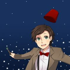 The 11th Doctor anime style