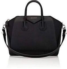5f459ccfd689 Givenchy Women s Antigona Leather Medium Duffel - Black 001 Givenchy Women