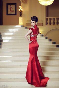 Red Qipao or Red Cheongsam | Brainy Mademoiselle