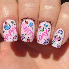 10 Creative Nail Designs for Short Nails to Create Unique Styles Creative Nail Designs, Short Nail Designs, Cute Nail Designs, Creative Nails, Acrylic Nail Designs, Birthday Nail Art, Birthday Nail Designs, Nail Polish Trends, Nail Trends