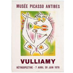 VULLIAMY. Musée Picasso Antibes. Rétrospective