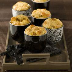 Soufflé de foie gras, miel et épices