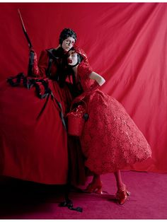 Love Magazine Spring/Summer 2014 by Tim Walker Make-up artist Isamaya Ffrench ☮k☮ #TiMwAlKeR