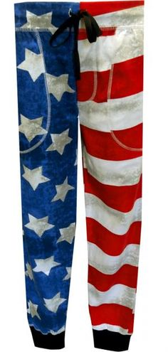 American Flag Jogger Lounge Pant