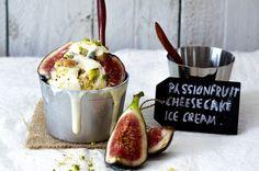 IJs recept – Verrukkelijk passievrucht cheesecake ijs met vijgen - ThePerfectYou.nl